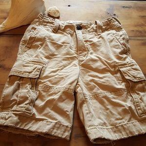 Boys sz 8 a& f kids cargo shorts